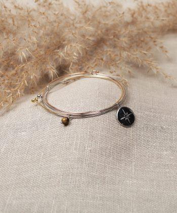 R0005 Bracelet Sophia Acier Argent