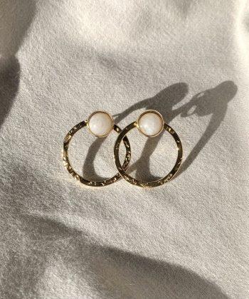 Boucles d'oreilles Marie - Acier inoxydable Pao Bijoux