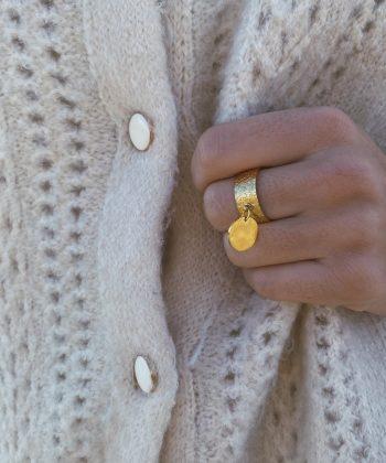 Bague HANNA - Acier inoxydable Pao Bijoux