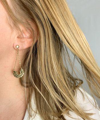 Boucles d'oreilles Lizia - Acier inoxydable Pao Bijoux