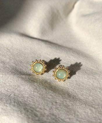 Boucles d'oreilles Rosie - Acier inoxydable Pao Bijoux