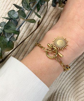 Bracelet Anaé - Acier inoxydable Pao Bijoux