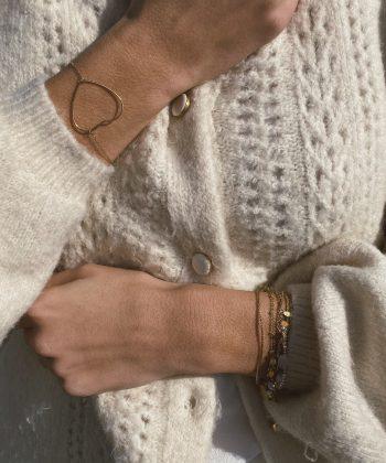 Bracelet Louisa - Acier inoxydable Pao Bijoux