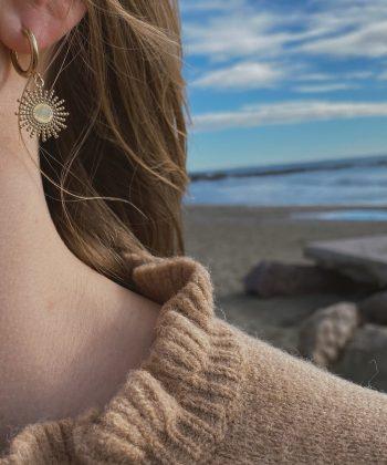 Boucles d'oreilles ANAE - Acier inoxydable Pao Bijoux