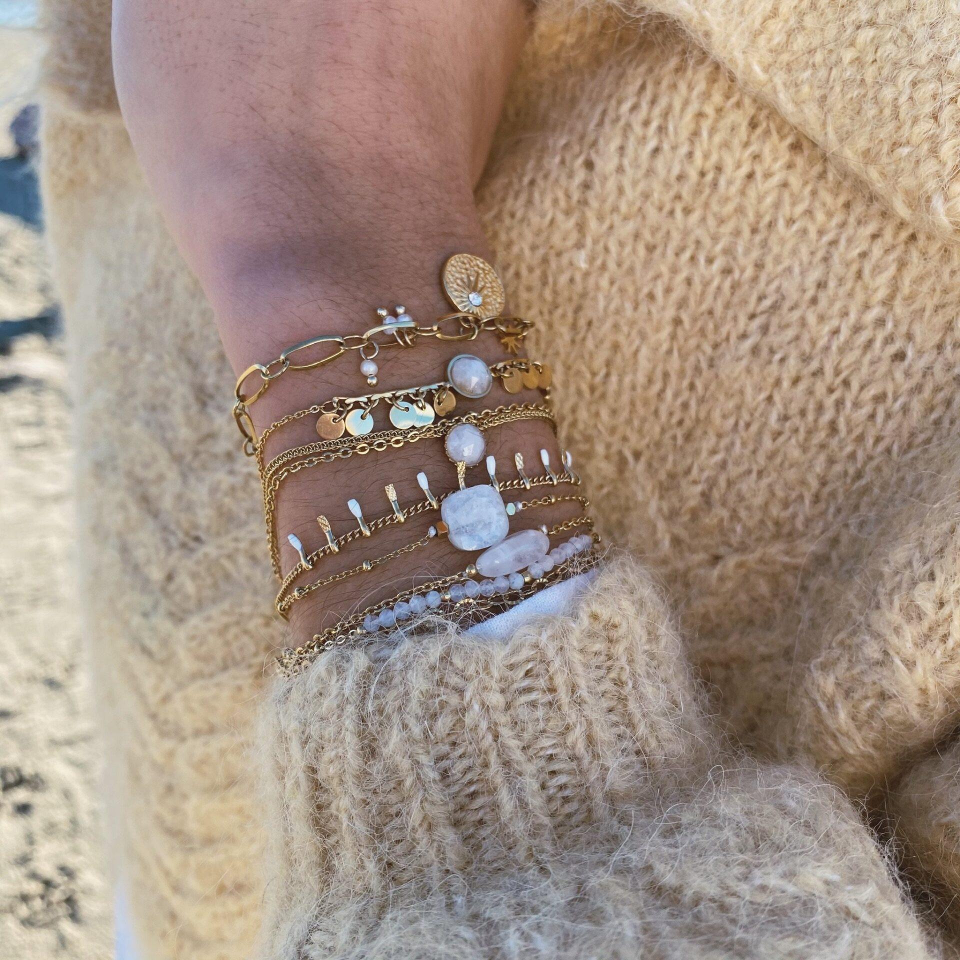 Bracelet acier inoxydable Pao Bijoux