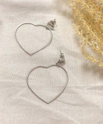 Boucles d'oreilles LOUISA - Acier inoxydable Pao Bijoux