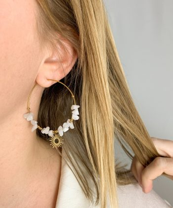 Boucles d'oreilles Lorna - Acier inoxydable Pao Bijoux