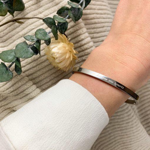 Bracelet Angèle - Acier inoxydable Pao Bijoux