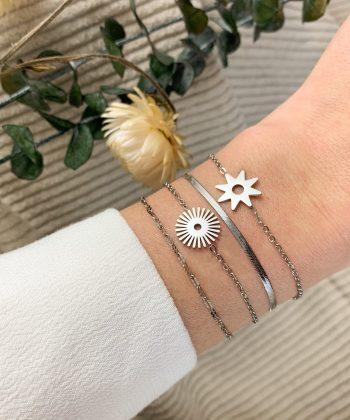 Bracelet Gaby - Acier inoxydable Pao Bijoux