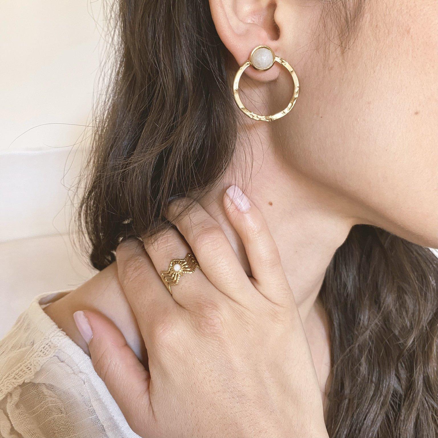 Boucles d'oreilles Pao bijoux