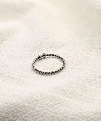 bague Émilie acier inoxydable pao bijoux