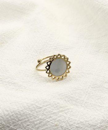 bague florine acier inoxydable pao bijoux