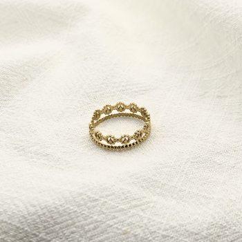 bague gabrielle acier inoxydable pao bijoux