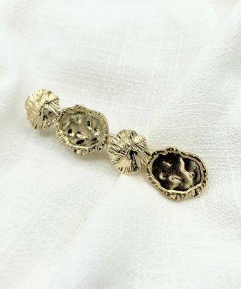 barrette Éloise acier inoxydable pao bijoux