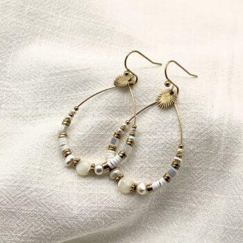 boucles d'oreilles apolline acier inoxydable pao bijoux