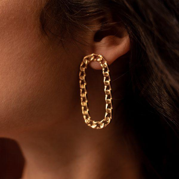 boucles d'oreilles carmen acier inoxydable pao bijoux
