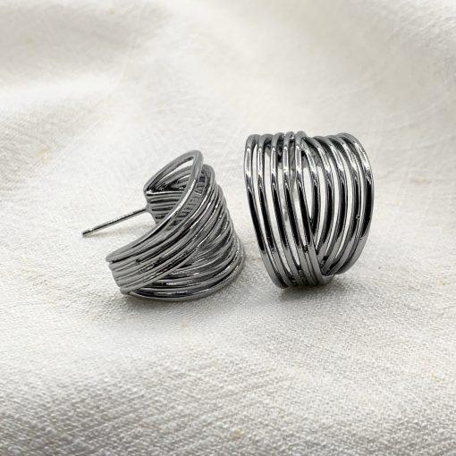 boucles d'oreilles constance acier inoxydable pao bijoux 3