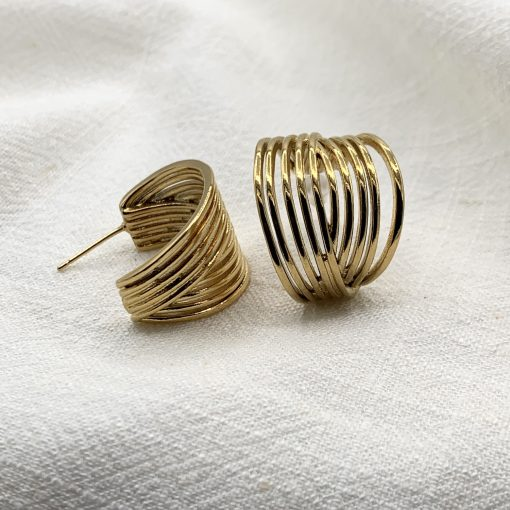 boucles d'oreilles constance acier inoxydable pao bijoux 4