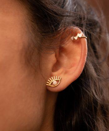 boucles d'oreilles emy acier inoxydable pao bijoux