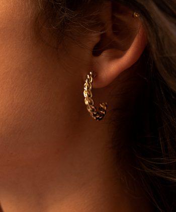 boucles d'oreilles hermione acier inoxydable pao bijoux2