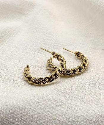 boucles d'oreilles hermione acier inoxydable pao bijoux3