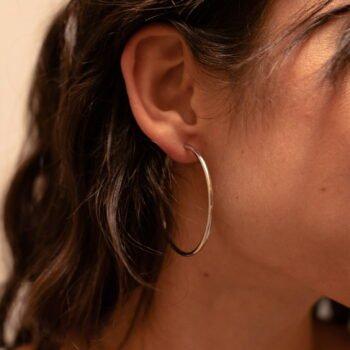boucles d'oreilles soline acier inoxydable pao bijoux