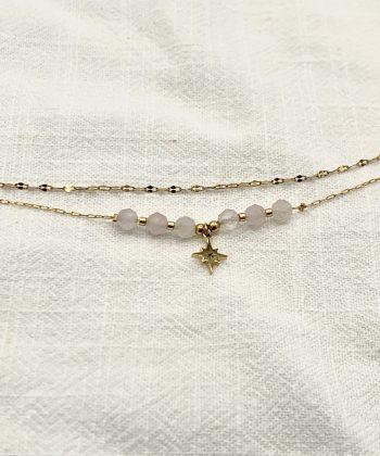 bracelet de cheville nélia acier inoxydable pao bijoux 2