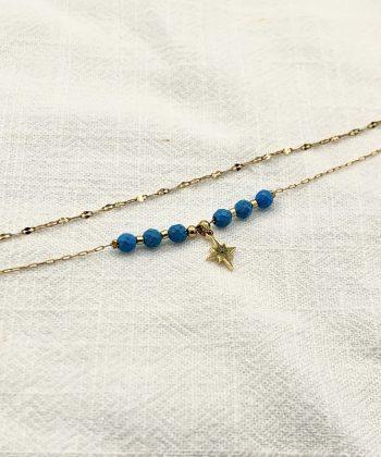 bracelet de cheville nélia acier inoxydable pao bijoux 3