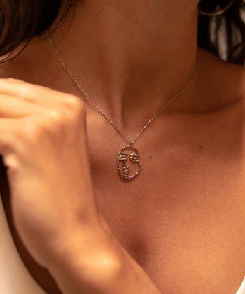 collier lola acier inoxydable pao bijoux