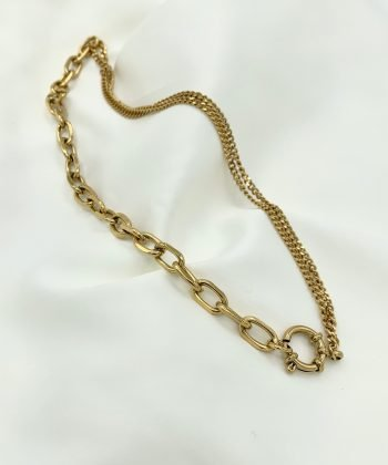 2 marine collier pao bijoux acier inoxydable