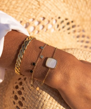 2 nora bracelet pao bijoux acier inoxydable