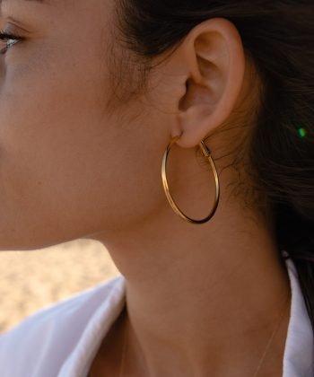 2 suzie boucles d oreilles pao bijoux acier inoxydable