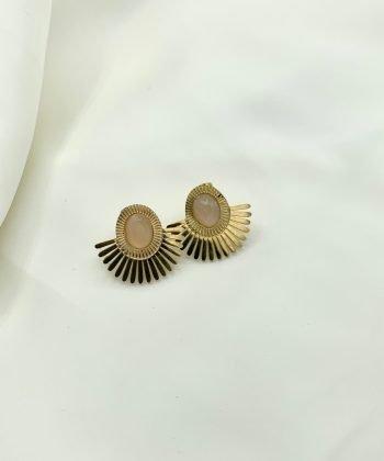 2 chirine boucles d oreilles pao bijoux acier inoxydable