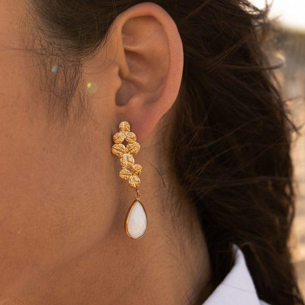 3 emma boucles d oreilles pao bijoux acier inoxydable