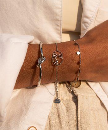 3 laura bracelet pao bijoux acier inoxydable
