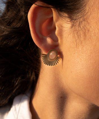 3 chirine boucles d oreilles pao bijoux acier inoxydable