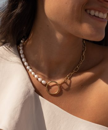 4 camélia collier pao bijoux acier inoxydable