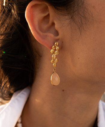 4 emma boucles d oreilles pao bijoux acier inoxydable