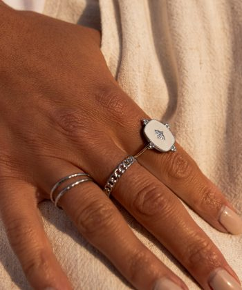 bague emma 3 pao bijoux acier inoxydable