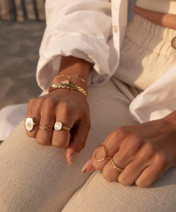 bague emma 4 pao bijoux acier inoxydable