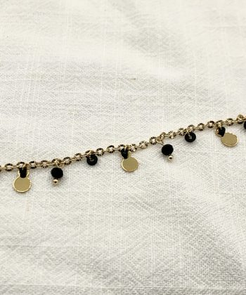 bracelet de cheville floriane acier inoxydable pao bijoux 3