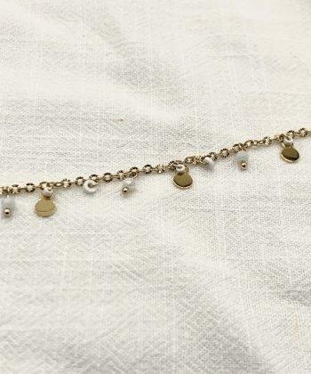 bracelet de cheville floriane acier inoxydable pao bijoux 4