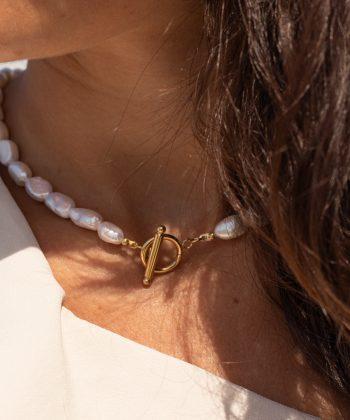 collier Éryane pao bijoux acier inoxydable