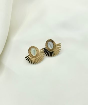 chirine boucles d oreilles pao bijoux acier inoxydable