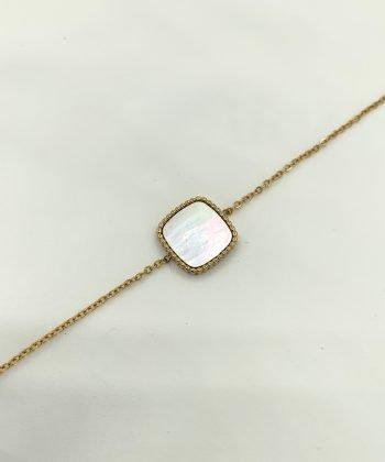 nora bracelet pao bijoux acier inoxydable