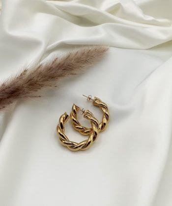 r0135 boucles d'oreilles helene pao bijoux acier inoxydable1